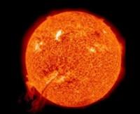 Güneş'te dev patlama