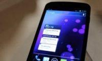 Samsung'un sır telefonu ortaya çıktı Samsung'un yeni akıllı telefonu Galaxy Nexus'un lansmanı yapıldı.