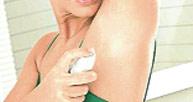 er önleyici deodorantlarda kullanılan alüminyumun meme kanseri riski taşıdığı ispatlandı. parça kontör