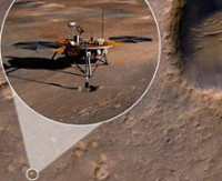 Keşif uydusu Kızıl Gezegen'de bir keşif yaptı...