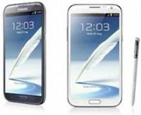 Samsung'un akıllı telefon-tableti Galaxy Note II, yoğun ilgiyle karşılaştı.