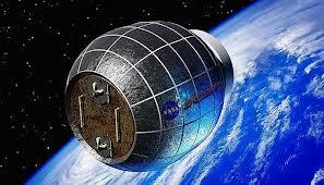 Astronotlar için 'balon ev'