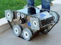 Bomba imha robotu yaptılar