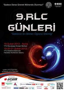 19-20-21 Şubat 2013 tarihlerinde Yıldız Teknik Üniversitesi ElektrikElektronik Fakültesi Konferans Salonu'nda gerçekleştirilecektir.
