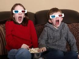 3D TV'de epileptik nöbet tehlikesi