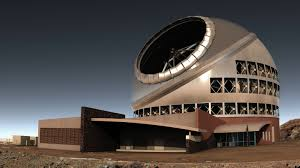 Hawaii'ye dev teleskop