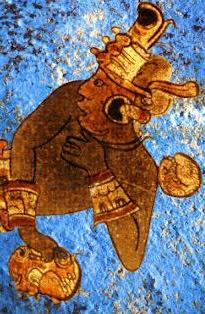 Maya Mavisi'nin gizli bileşiği