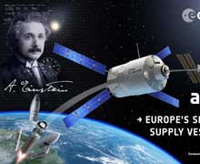 Einstein UUİ'ye kenetlendi