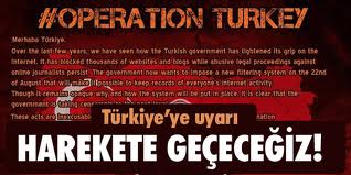 Anonymous 'Gezi Parkı' için hackledi