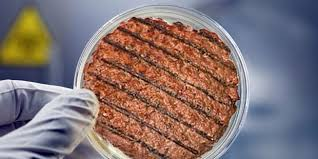 Laboratuvarda üretilen etten yapılan ilk köfte pişti
