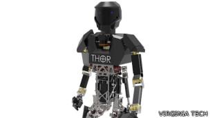 Felaket robotları yarışmaya hazırlanıyor