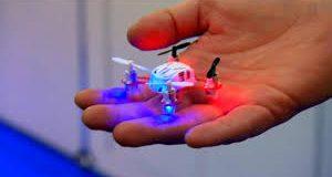 En küçük dört motorlu helikopter