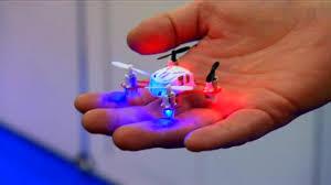 Dünyanın en küçük dört motorlu helikopteri