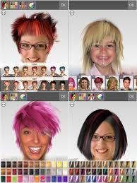 Günün uygulaması 'Hairstyle Magic Mirror'