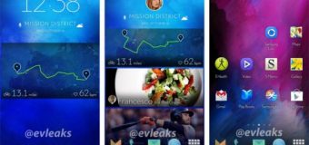Yeni TouchWiz arayüzü göründü
