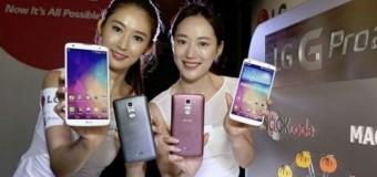 LG G Pro 2 dünyaya açılıyor