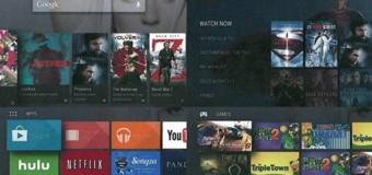 Google Android TV hazırlığında