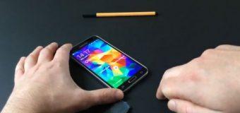 Samsung S5'in parmak içi güvenliği aşıldı