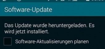 Galaxy S5 için ilk güncelleme geldi