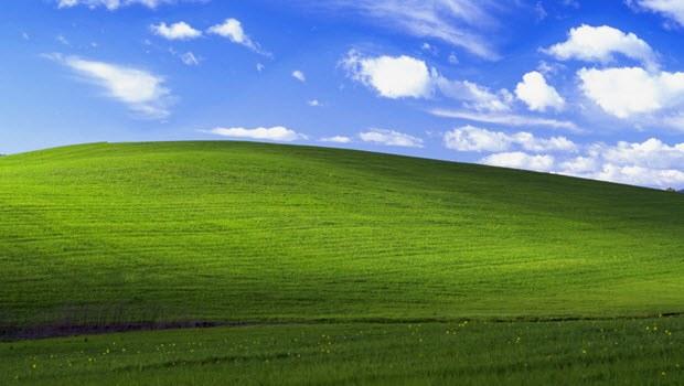 Windows XP'deki tepe bakın bugün ne halde