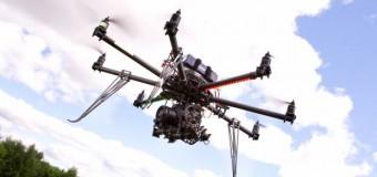Biber gazı sıkan insansız hava aracı