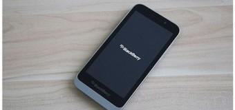 BlackBerry Z5′ten yeni görüntüler yayınlandı