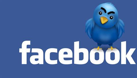 Facebook'tan Twitter'a 500 milyon dolar