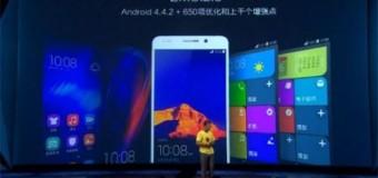 Huawei Honor 6 tanıtıldı