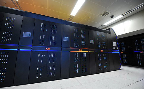 CHINA-SUPERCOMPUTER TIANHE-2-TOP500 LIST-REGAINING TOP SPOT(CN)