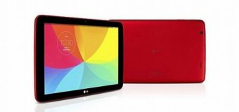 LG yeni tableti G Pad'i satışa sunuyor