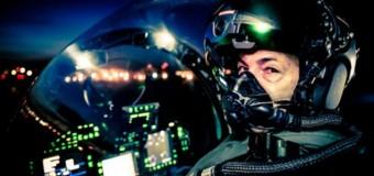 Pilotlar için gece görüş kaskı