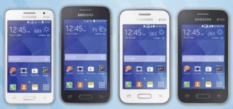 Samsung 4 yeni Galaxy'i piyasaya sürdü