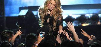 Shakira Facebook'un zirvesinde