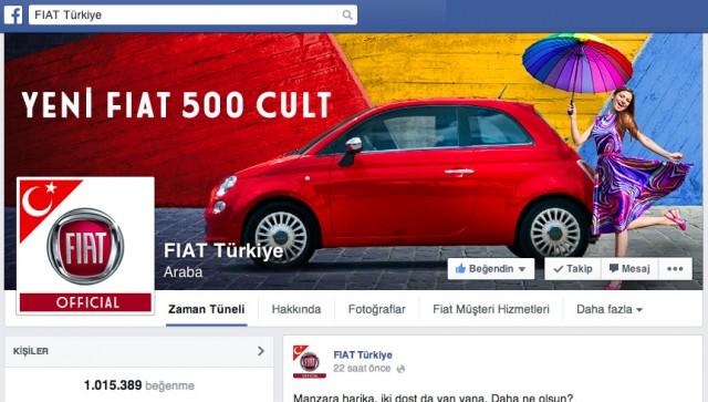 Fiat-Facebook-Sayfasi