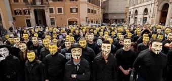 Anonymous'un Twitter hesabı donduruldu!