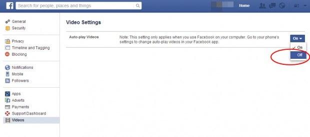 facebook-video-otomatik-oynamayi-kapatma