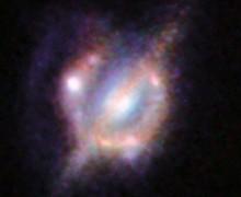 Çarpışan galaksilerin en net görüntüsü
