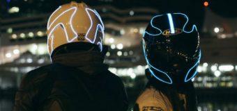 LightMode kask ile güvenli gece sürüşü