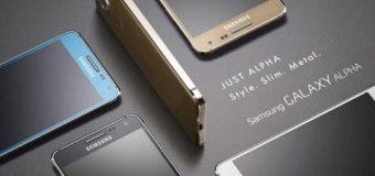 Samsung Galaxy Alpha resmen tanıtıldı