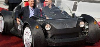 Bu arabayı 3D yazıcı ile ürettiler