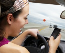 Otomobilde telefona ağır ceza