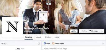 Zenginlere özel Facebook!