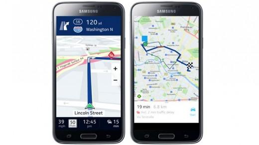 Nokia ve Samsung'un harita işbirliği