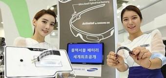 Samsung'dan dünyanın en esnek pili