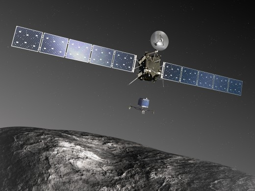 Rosetta-kuyruklu-yildiz