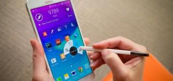 Galaxy Note 4'ün pil gücü 4 kat arttı