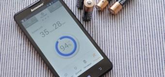 Lenovo'dan 46 gün pil ömürlü akıllı telefon!