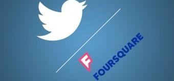 Twitter ve Foursquare'den ortak adım
