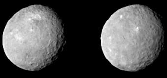 Cüce gezegen CERES'in en net fotoğrafları