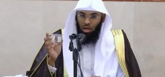Suudi imam: Dünya dönmüyor!